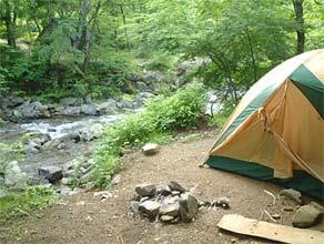 キャンプ 道 志村